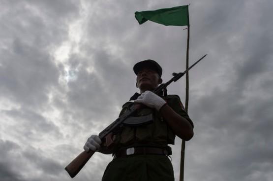 中國支援的叛軍瞄準緬甸的基督徒