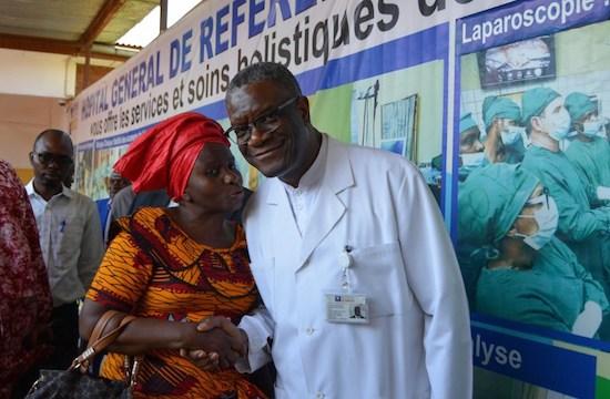 由信仰陶造而成的諾貝爾和平獎得主:剛果婦科醫生穆克維格