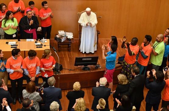 教宗呼籲青年人與長者結成新同盟