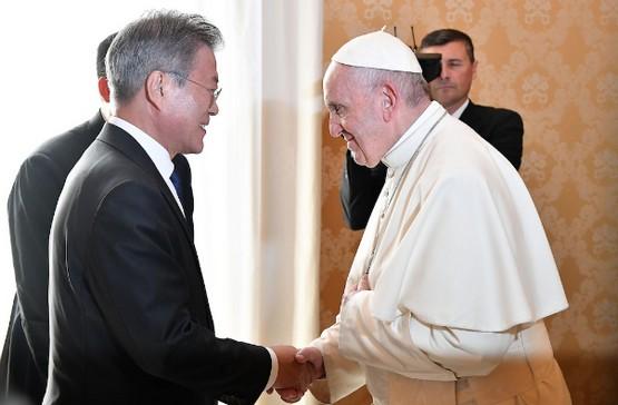 教宗稱對出訪北韓持開放態度