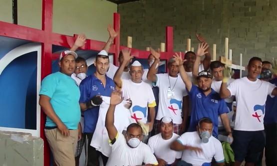 【盐与光:教会透视】35名服刑人士为巴拿马世青打造告解亭