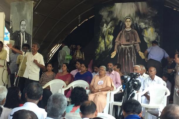 教會或許會懲罰帶領修女提出抗議的印度神父