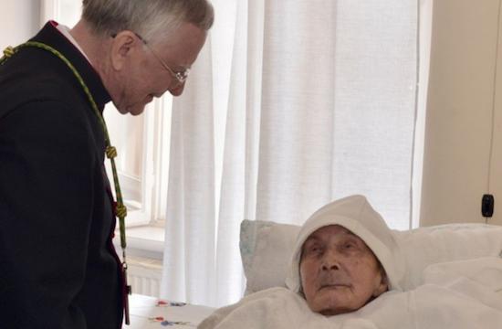 世上最年長修女安息主懷,她曾因拯救猶太人而獲加許