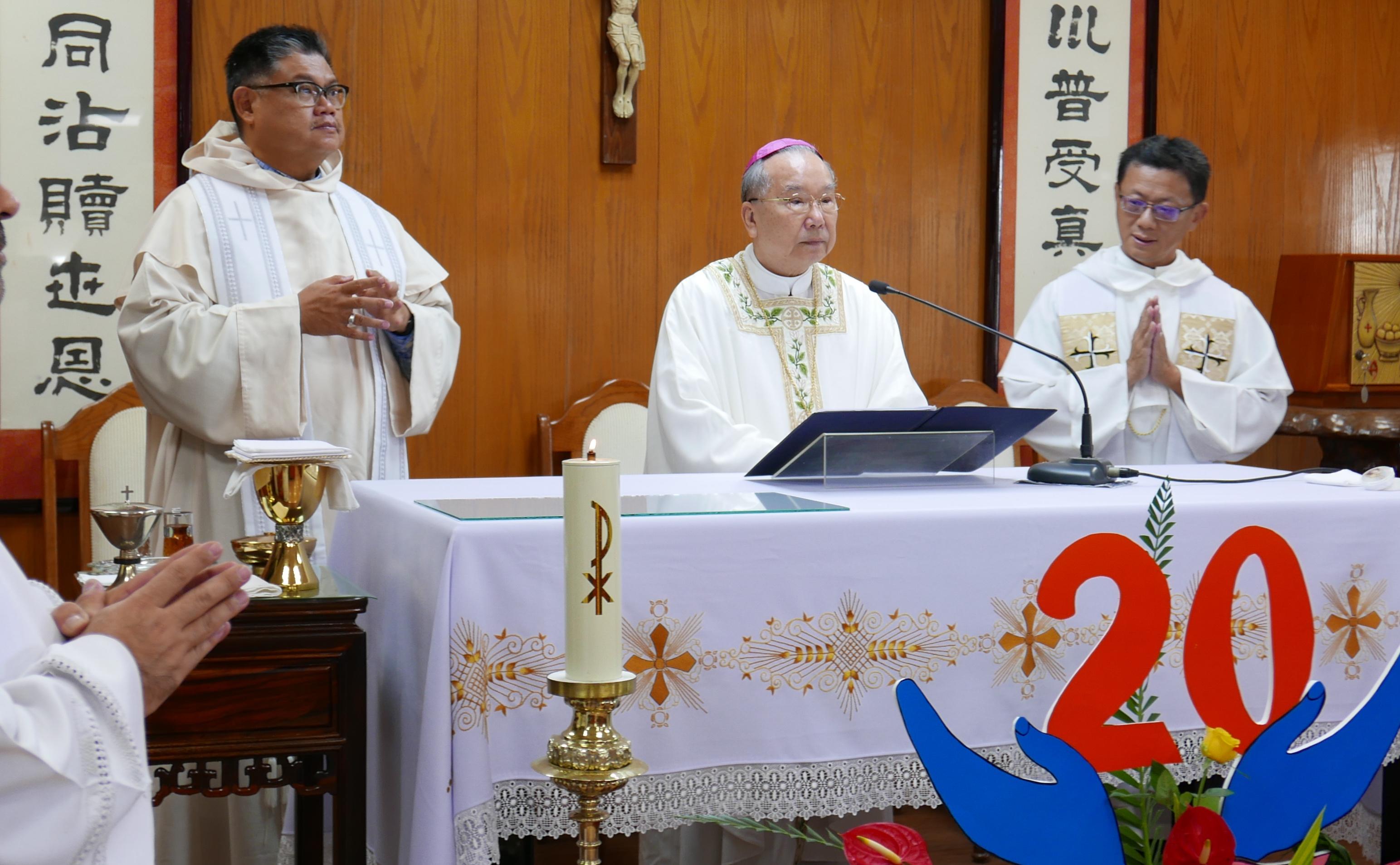 前教廷華裔大使葉勝男總主教,低調慶祝晉牧周年