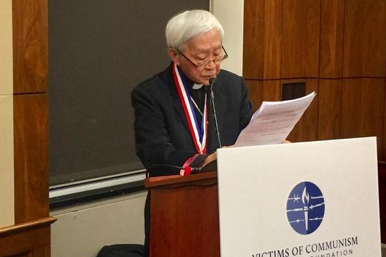 【博文】陳日君樞機獲頒「杜魯門—列根自由奬」後的講辭