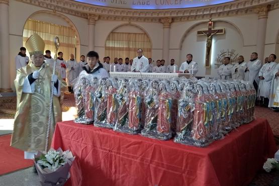 唐山教區慶祝成立一百二十周年暨「家庭年」開幕禮