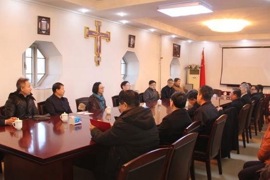 王作安走訪一會一團,提醒做好主教選聖和地下主教轉化工作