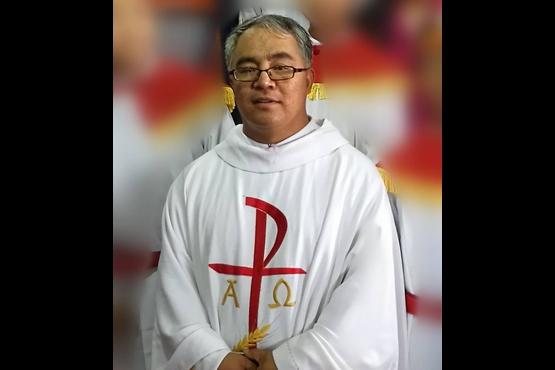宣化教區再有地下神父遭拘禁,聖枝主日後當眾被粗暴帶走