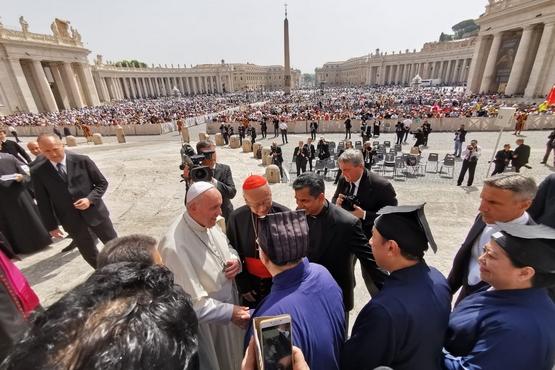 湯樞機譴責暴力籲雙方對話,信徒致函請教宗關注香港局勢