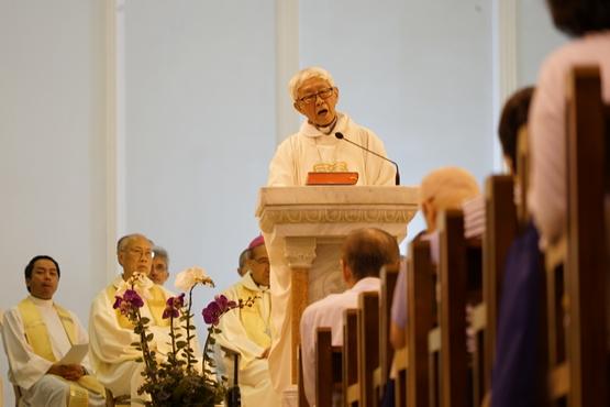 逾六百人出席六四三十周年彌撒,陳樞機籲教友要做先知角色