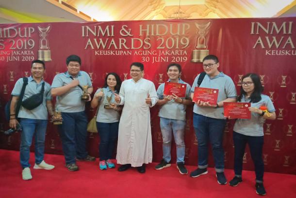 印尼堂區透過媒體深化天主教價值觀