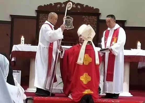 集寧姚順神父獲祝聖為教區主教,成中梵協議後首位晉牧司鐸