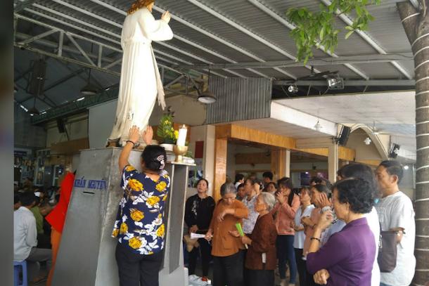越南天主教徒警告要避免「邪靈」儀式