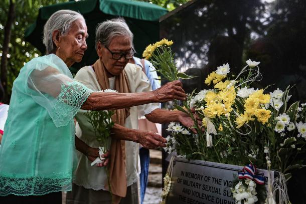 菲律賓「慰安婦」紀念碑揭幕
