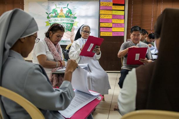 菲律賓教會在九月起草了《願祢受讚頌》的實踐策略
